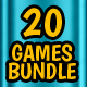 20 Games Bundle - CodeCanyon Item for Sale