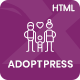 AdoptPress - Child & Pet Adoption Charity HTML Template - ThemeForest Item for Sale