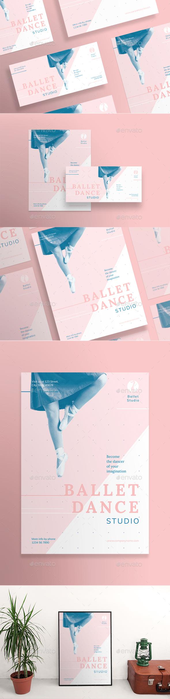 Ballet Dance Studio Flyers - Miscellaneous Events