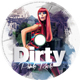 Dirty Punk Rock CD Cover - GraphicRiver Item for Sale