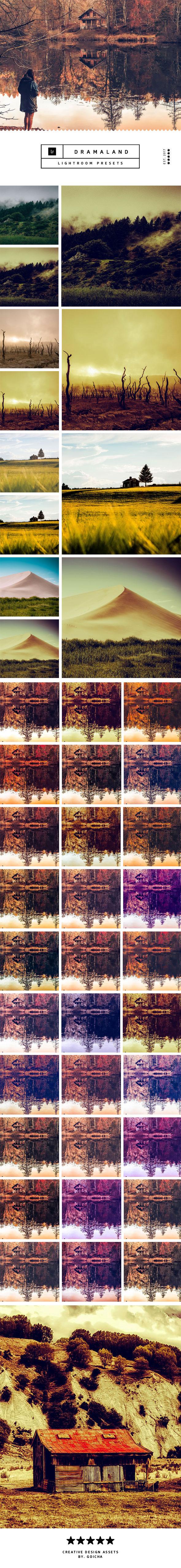 Drama Landscape Lightroom Presets - Lightroom Presets Add-ons