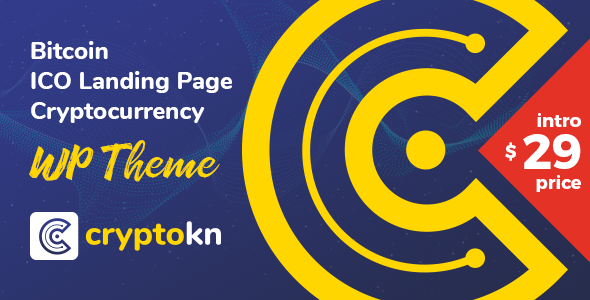 Image of Cryptokn - ICO Landing Page & Cryptocurrency WordPress Theme