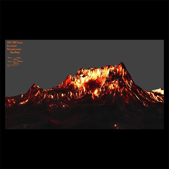 Volcano 2 - 3DOcean Item for Sale