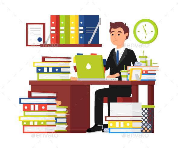 Office Worker - People Characters