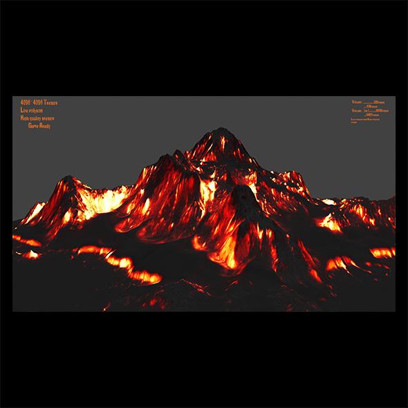 Volcano 1 - 3DOcean Item for Sale