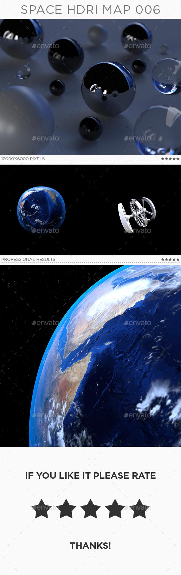 Space HDRi Map 006 - 3DOcean Item for Sale