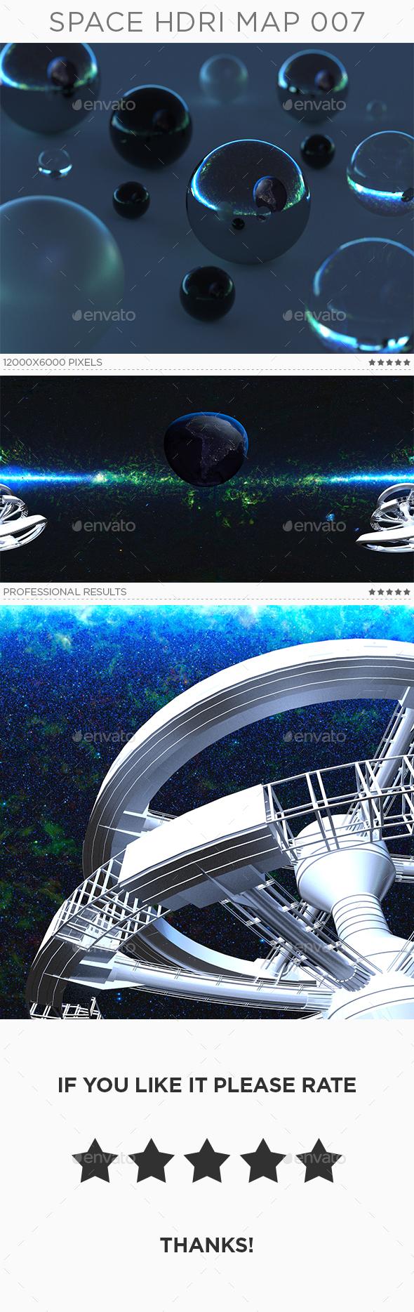 Space HDRi Map 007 - 3DOcean Item for Sale