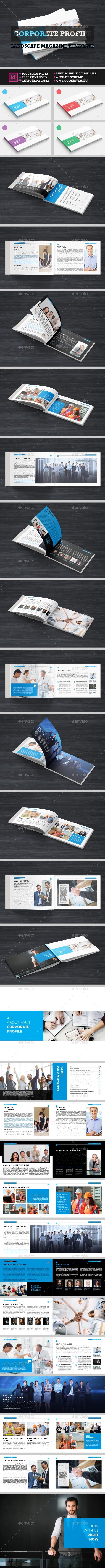 Corporate Profile Magazine - Corporate Business Cards