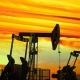 Move Along Oil Pump Jacks Against Dusk - VideoHive Item for Sale