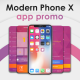 Modern Phone X App Promo - VideoHive Item for Sale