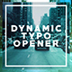 Dynamic Typo Opener - VideoHive Item for Sale