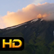 Mount Taranaki and Clouds at Sunset - VideoHive Item for Sale