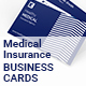 Medical Insurance Agency Business Cards