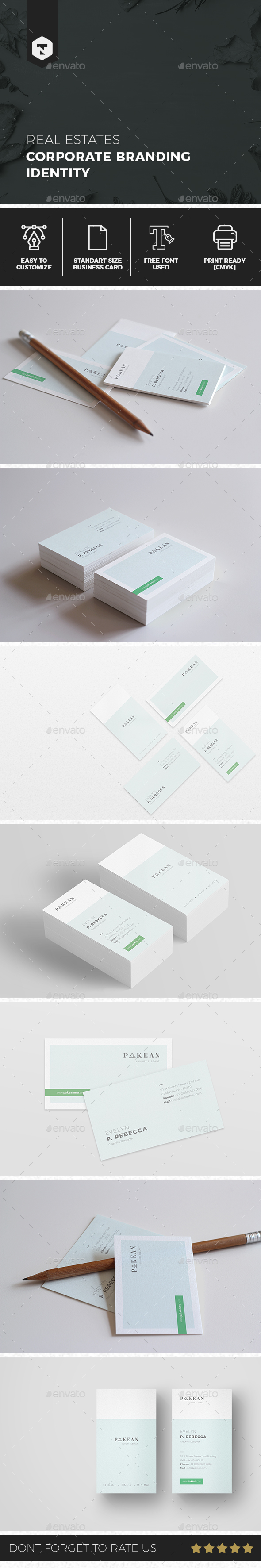 Minimalist Business Card Vol. 02 - Business Cards Print Templates