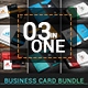 Business Card Bundle (3 in 1) - GraphicRiver Item for Sale