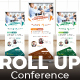 Conference Roll Up Banner - GraphicRiver Item for Sale