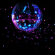 Colorful disco mirror ball light spots - PhotoDune Item for Sale