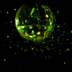 Colorful disco mirror ball green light spots - PhotoDune Item for Sale