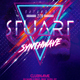 Synthwave DJ Party Flyer - GraphicRiver Item for Sale
