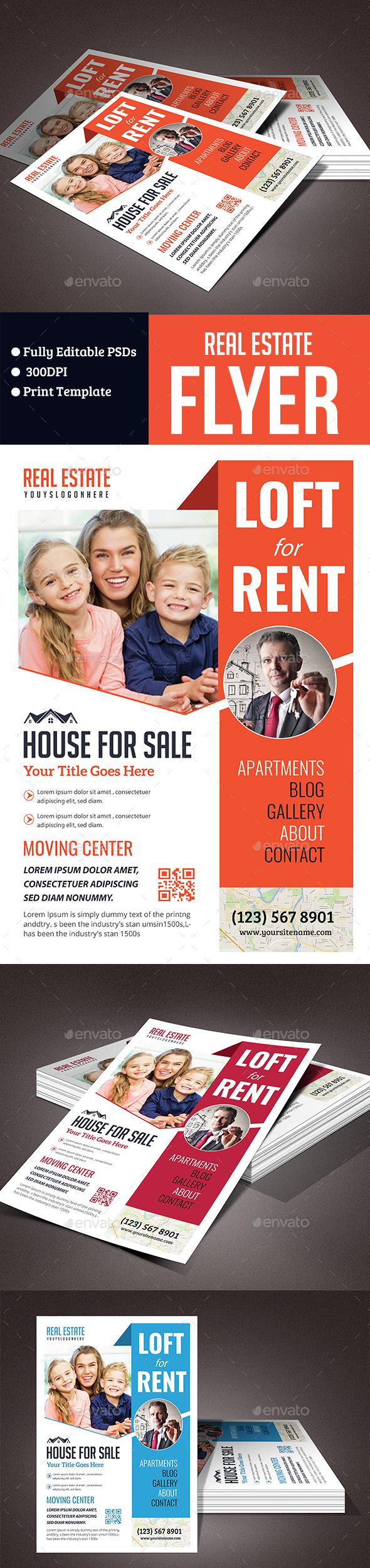 Real Estate & Rental Flyer - Commerce Flyers