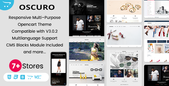 Oscuro - Responsive OpenCart Themes - OpenCart eCommerce