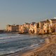 Cefalu seaside houses on Sicily - PhotoDune Item for Sale