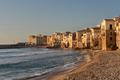 Cefalu seaside houses on Sicily - PhotoDune Item for Sale