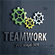 Gear Works Logo.Teamwork - GraphicRiver Item for Sale