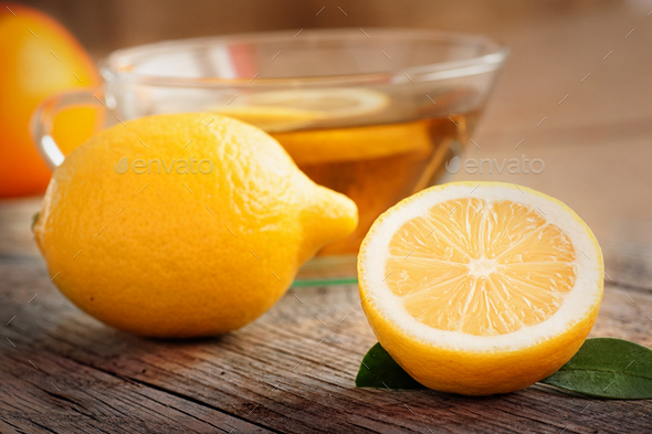 Lemon tea - Stock Photo - Images