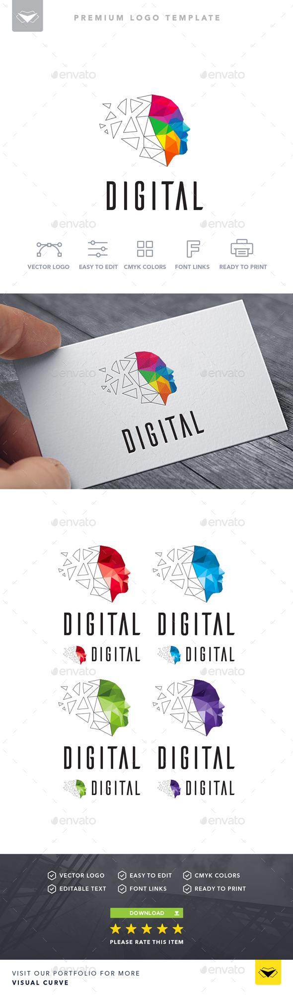 Digital Logo - Logo Templates