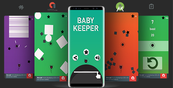 Keeper Baby (Android Studio Project + Bbdoc+ Admob) - CodeCanyon Item for Sale