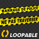 Police Line - French Text - VideoHive Item for Sale
