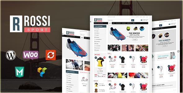 VG Rossi - Responsive WooCommerce WordPress Theme - WooCommerce eCommerce