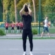Basketball Freestyle, a Player Jumps Over a Teammate and Makes a Slam Dunk - VideoHive Item for Sale