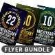 Anniversary Flyer Bundle - GraphicRiver Item for Sale