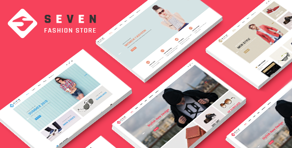 Image of Seven - Minimal Fashion Responsive Prestashop 1.7 Theme