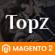 TopzStore - Advanced Responsive Magento 2 Theme - ThemeForest Item for Sale