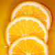 Sliced orange background - PhotoDune Item for Sale