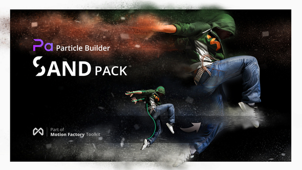 Videohive Particle Builder | Sand Pack: Dust Sand Storm Disintegration Effect Vfx Generator 21088788 ( 16 March 18 Update) - Free download