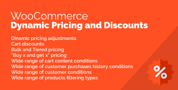 WooCommerce Dynamic Pricing and Discounts - CodeCanyon Item for Sale