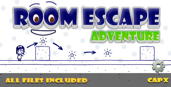 Room Escape (CAPX & HTML) Game! - CodeCanyon Item for Sale