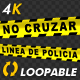 Police Line - Spanish Text - 4K - VideoHive Item for Sale