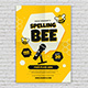 Spelling Bee Contest Flyer Template - GraphicRiver Item for Sale