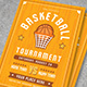 Basket Ball Flyer Template - GraphicRiver Item for Sale