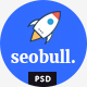 Seohub -  Startup & Agency PSD Template - ThemeForest Item for Sale