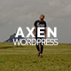 Axen - Personal Portfolio WordPress Theme