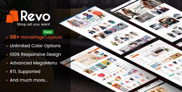 Image of Revo - Premium Responsive PrestaShop Theme for Mega Store