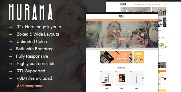 Image of Hurama - Multipurpose Responsive PrestaShop Theme