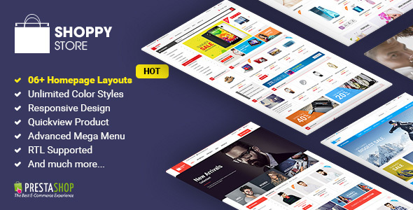 Image of Shoppy Store - Responsive PrestaShop Theme