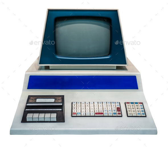 Vintage Personal Computer - Stock Photo - Images